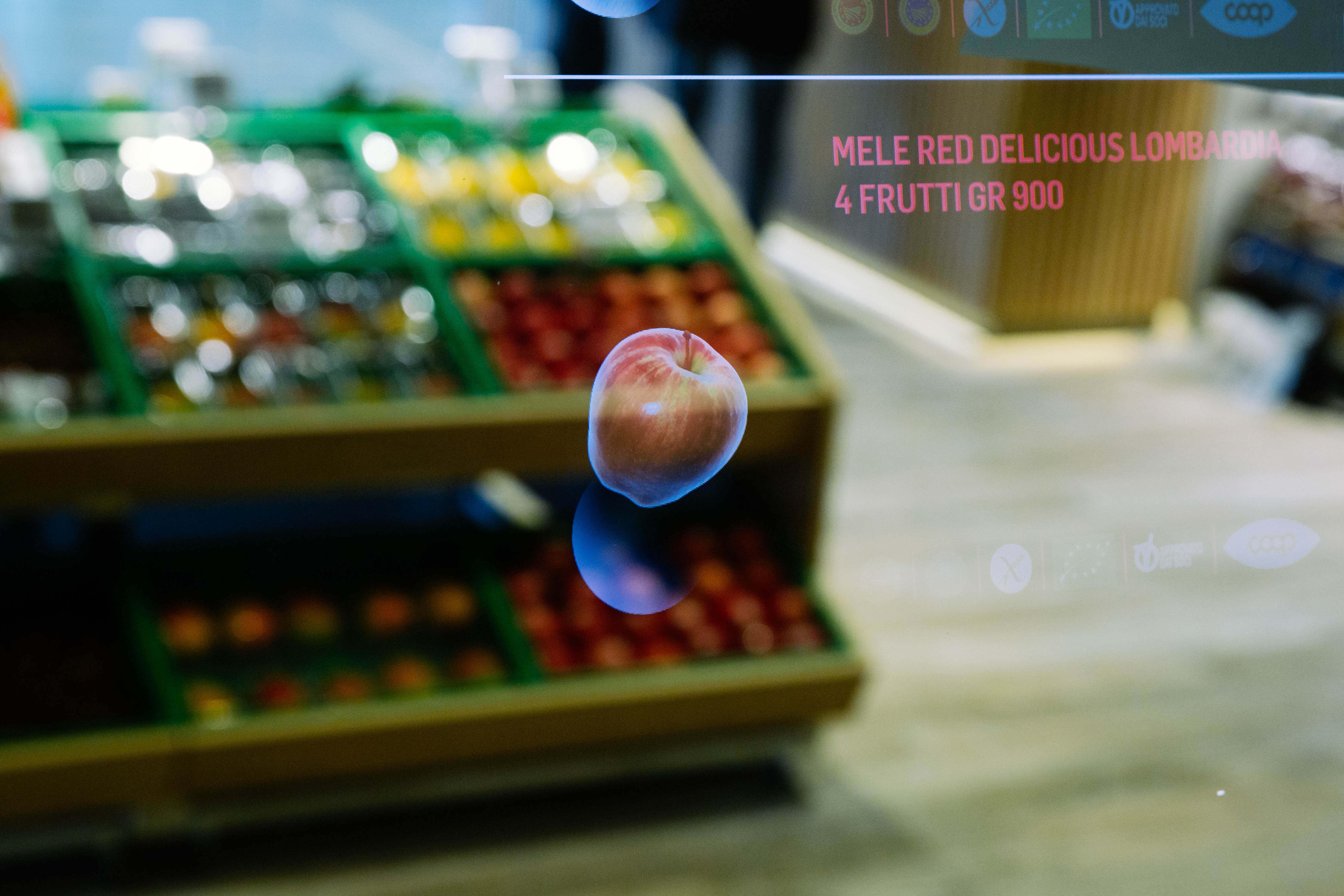 Supermarket budoucnosti otevřel řetězec Coop Italia ve spolupráci s Accenture. Zdroj: Accenture