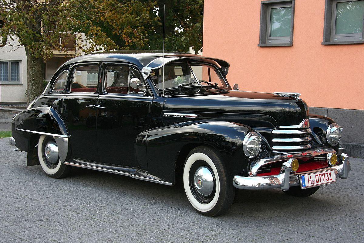 Jeden z prvních globálně úspěšných modelů, Opel Käpitan automobilka vyráběla přes 40 let. Zdroj: Opel