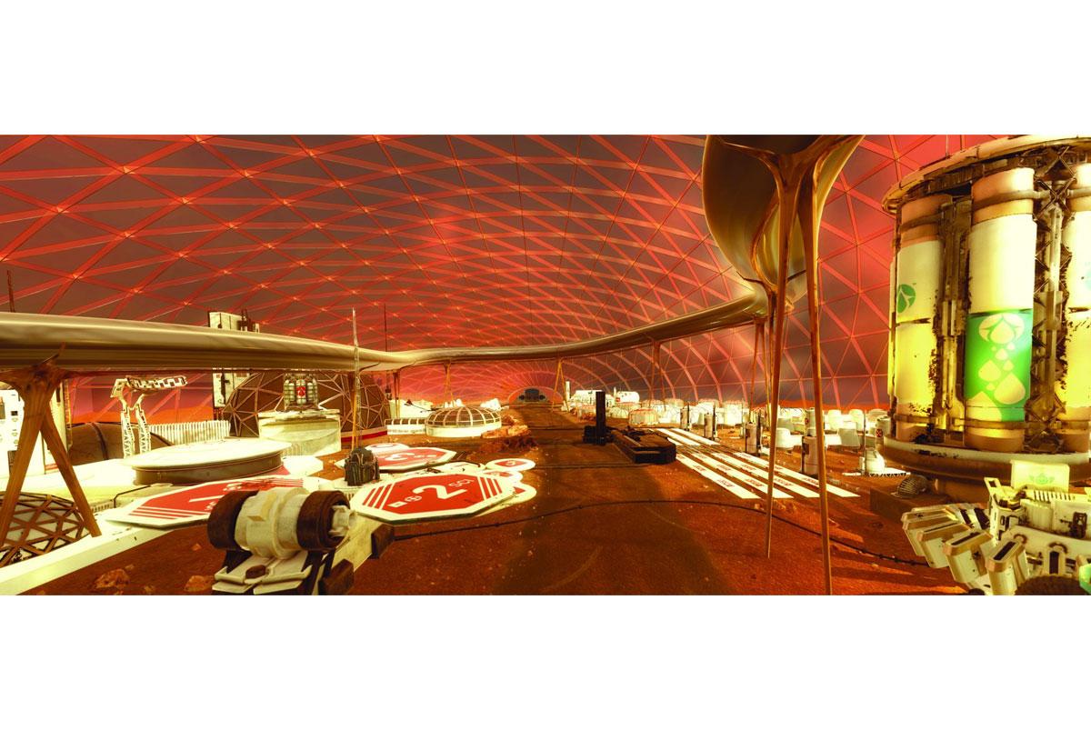 Projekt se také zaměří na vesmírnou dopravu, bydlení a energetiku.