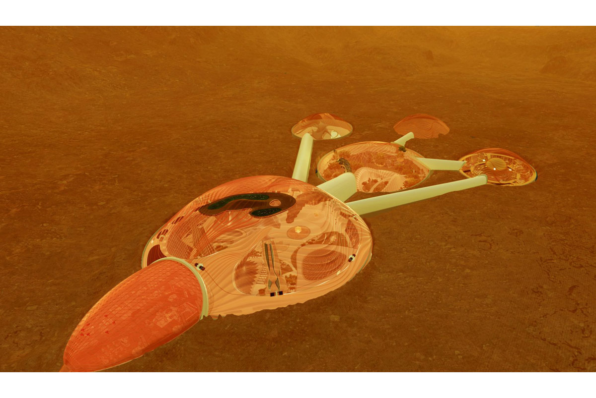 Projekt Mars 2117 by měl během 100 let vybudovat na Marsu kolonii o velikosti amerického Chicaga.
