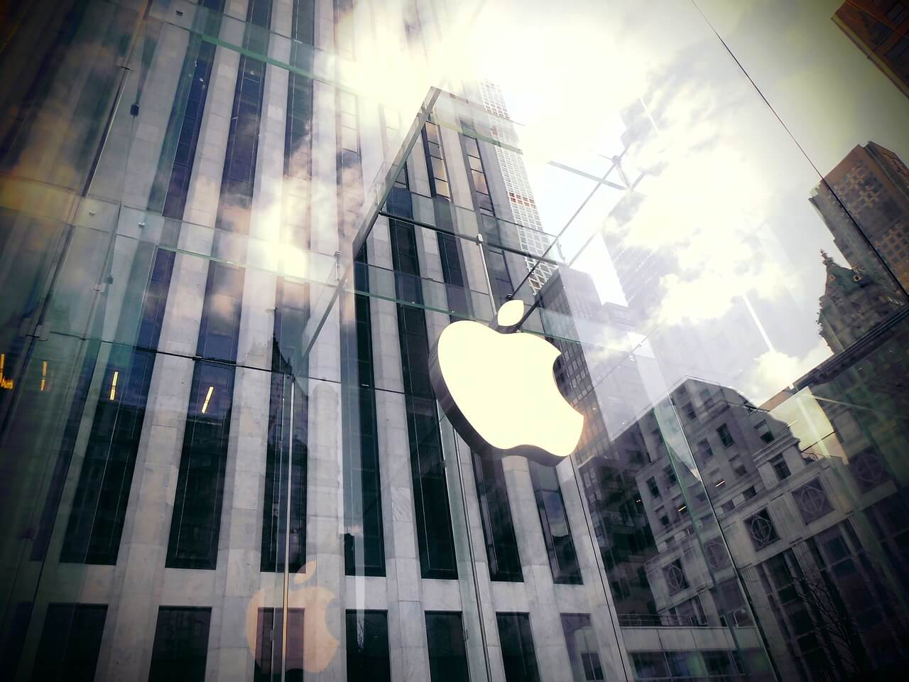 Ilustrační foto: Obchod firmy Apple v New Yorku. Zdroj: pixabay.com