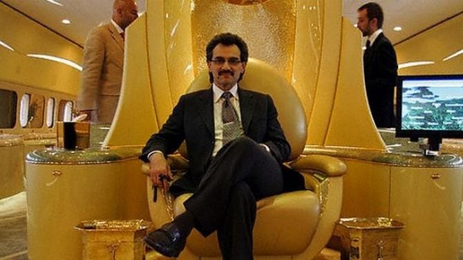 Saúdský princ Valid Bin Tálal. Zdroj: listhogs.com