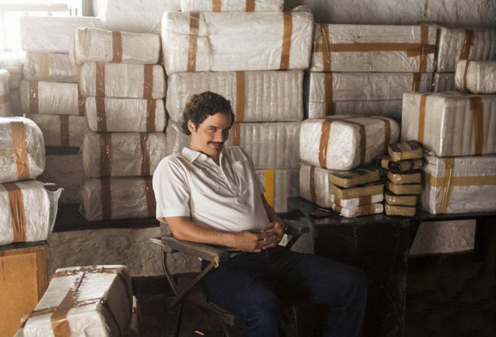Jedním z úspěšných seriálů Netflixu z vlastní dílny je Narcos, který sleduje osudy drogového barona Pabla Escobara. Zdroj: Netflix