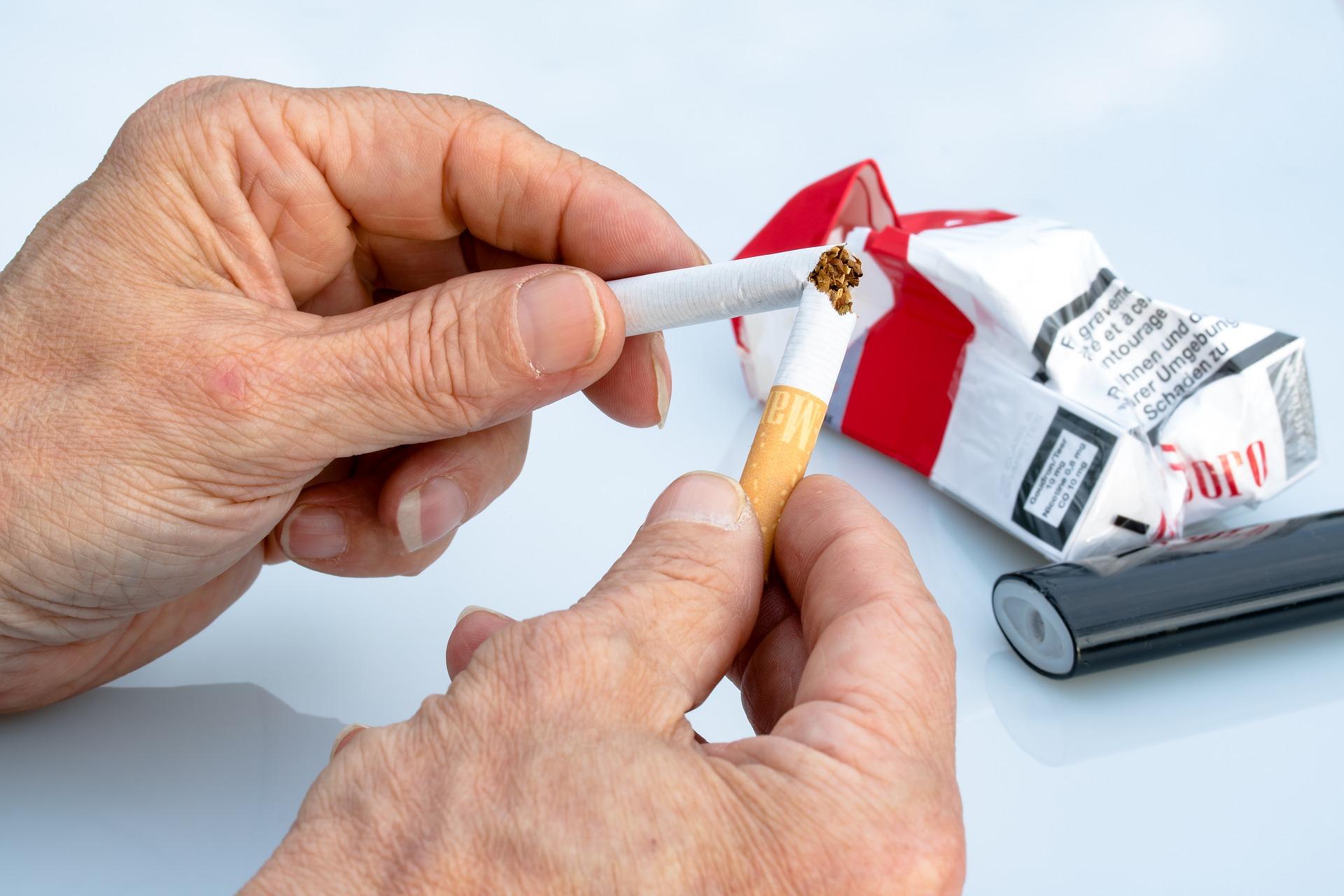 Kouření 1. osoby