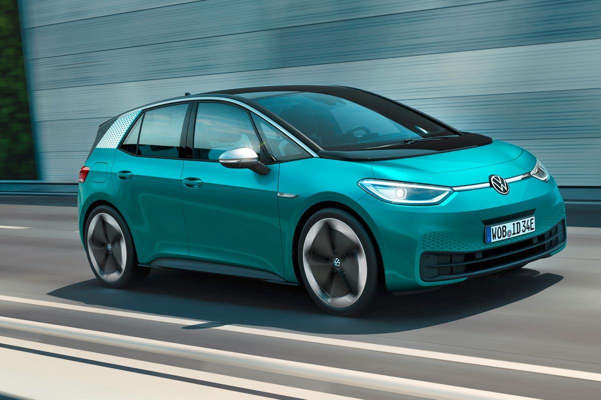 Sériový vůz ID.3, který dorazí na první trhy v polovině roku 2020, je prvním vozem v široké řadě elektricky poháněných modelů všech značek koncernu VW.